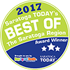 Saratoga Today's Best Of Saratoga 2017 Winner