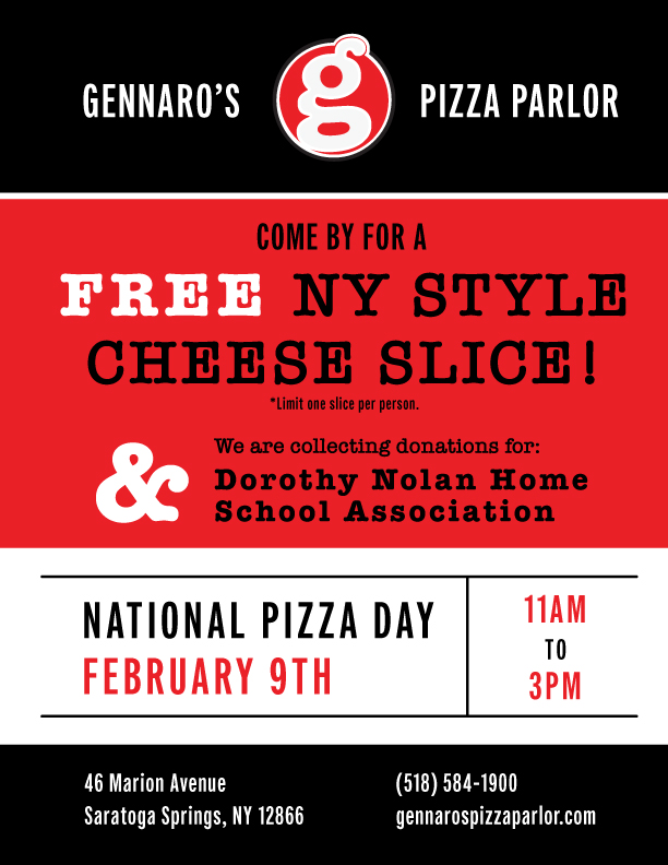 National Pizza Day Flyer